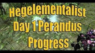 Path of Exile Ascendancy: Day 1 Hegelementalist Progress Perandus League
