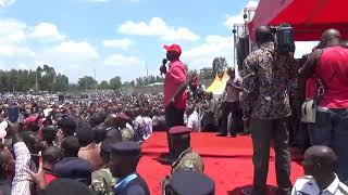 William Ruto welcomes back Isaac Ruto to Jubilee
