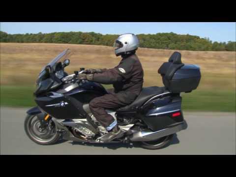 BMW K1600 GTL Motorcycle Experience Road Test 2012