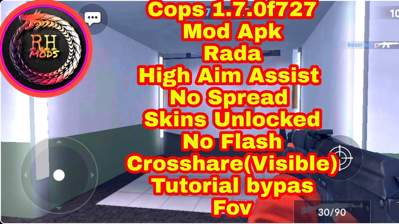 🥇 Cops 1 7 0f727 Mod Apk Radar Skins Unlocked No Spread High
