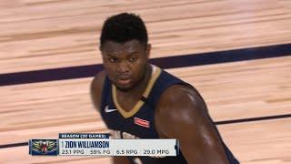 CLIPPERS vs PELICANS - 1st Half Highlights | NBA Restart