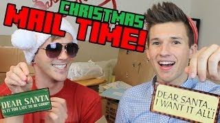 CHRISTMAS MAIL VLOG!