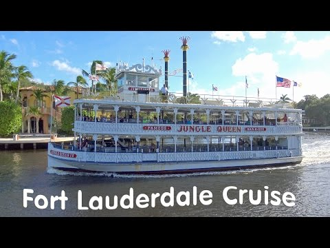 Fort Lauderdale Jungle Queen cruise 4K