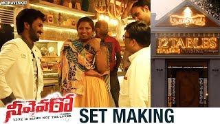 Neevevaro Movie Set Making | Aadhi Pinisetty | Taapsee | Ritika Singh | Harinath | Kona Venkat