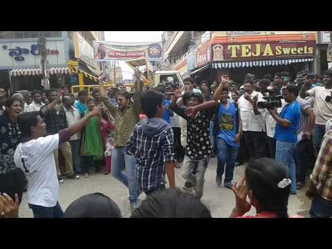 Chittoor at teja sweets(flash mob)