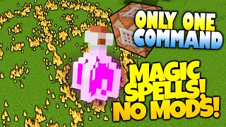 Minecraft | MAGIC | Bend Gravity, Summon Meteors & More! | Only One Command (Minecraft Redstone)
