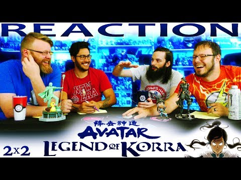 "Legend of Korra 2x2 REACTION!! ""The Southern Lights"""