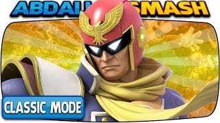 CAPTAIN FALCON Classic Mode 9.9 (Hardest Intensity & No Deaths) | Super Smash Bros Ultimate