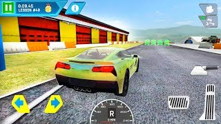 Driving School Test Car Racing #4 USA Supercar - Android Gameplay
