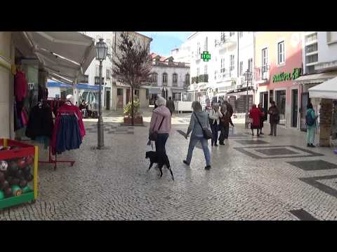 Town Centre and shops, Lagos, Portugal