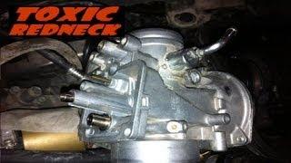 polaris sportsman 500 rejetting the carburetor and tips