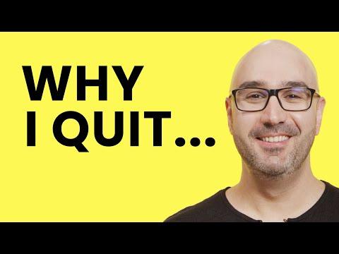 Why I Left My Job As A Senior Software Engineer | Mosh Hamedani
