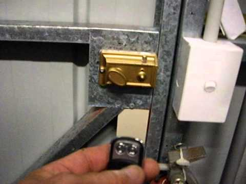 Electric Shed Door Lock Locksmith Redcliffe Qld 4020
