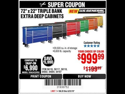 Some Great Coupons From Harbor Freight