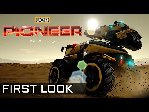 JCB Pioneer: Mars - FIRST LOOK - Hardcore Survival & Construction (The EAR)