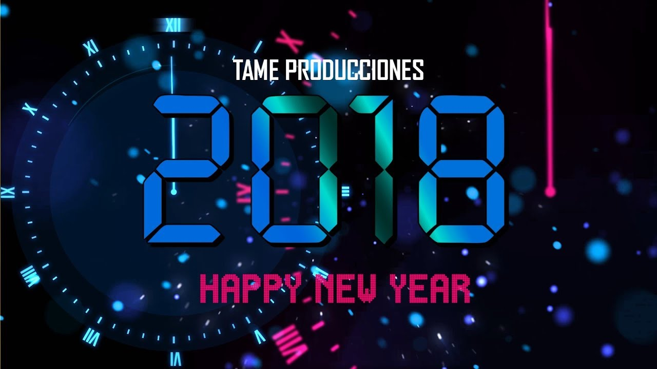 Free Template Sony Vegas Pro 11 12 13 Countdown New Year Tame Producciones