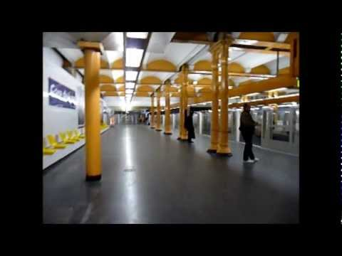 paris metro gare de lyon bastille saint paul ligne 1 youtube. Black Bedroom Furniture Sets. Home Design Ideas