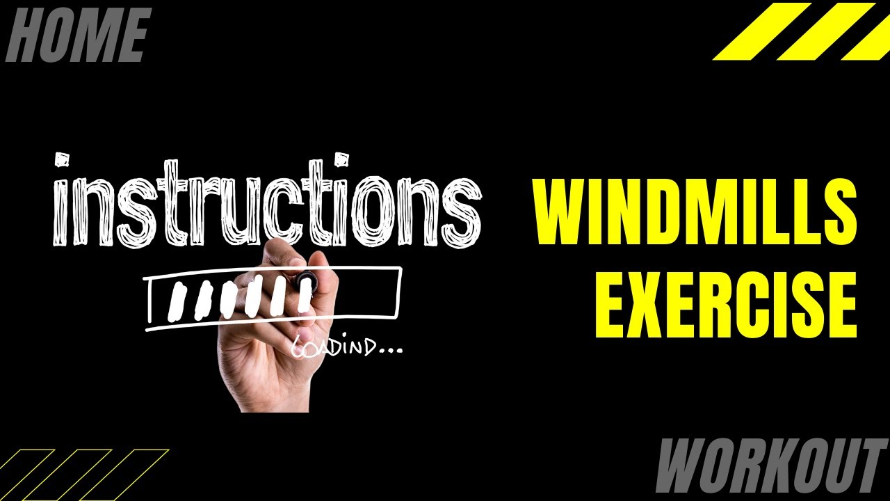 Improve Balance With The Windmills Home Exercise