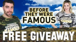 FREE GIVEAWAY - Before They Were Famous