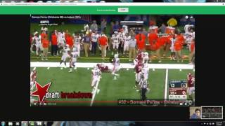 Perine, a polarizing running back prospect for the 2017 NFL Draft, ...