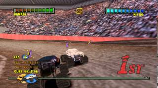 (PS2) Monster Trux Arenas - Special Edition (SLES-54110) GamePlay PSXPLANET.RU
