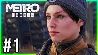 Metro Exodus Gameplay Walkthrough Part 1 - (Chapter 1 Moscow)