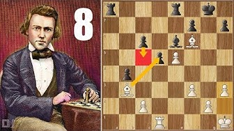 Play Time's Over || Paulsen vs Morphy (1857) || 1st American Chess Congress