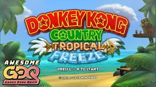 DKC: Tropical Freeze Race of Kruncha,michael_goldfish,and Spikevegeta in 1:25:58 - AGDQ2019