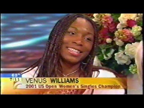 Venus Williams Interview age 21 talks US Open win over Serena (2001)