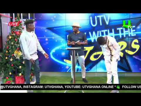 Kobi Rana talks about video with Afia Odo on UTV Day With The Stars