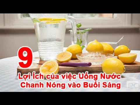 9 Lợi Ích của việc Uống Nước Chanh Nóng vào Buổi Sáng