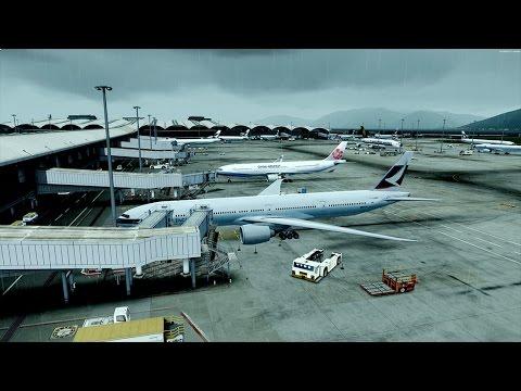 Prepar3D Hong Kong to Bangkok PMDG 777-300 GTX 1080 SLI Part 1