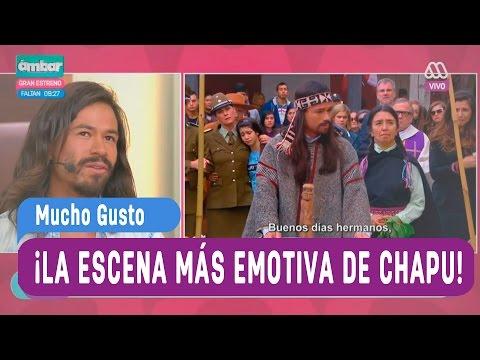 Francisco Puelles y la emotiva escena de Pobre Gallo - Mucho Gusto 2016