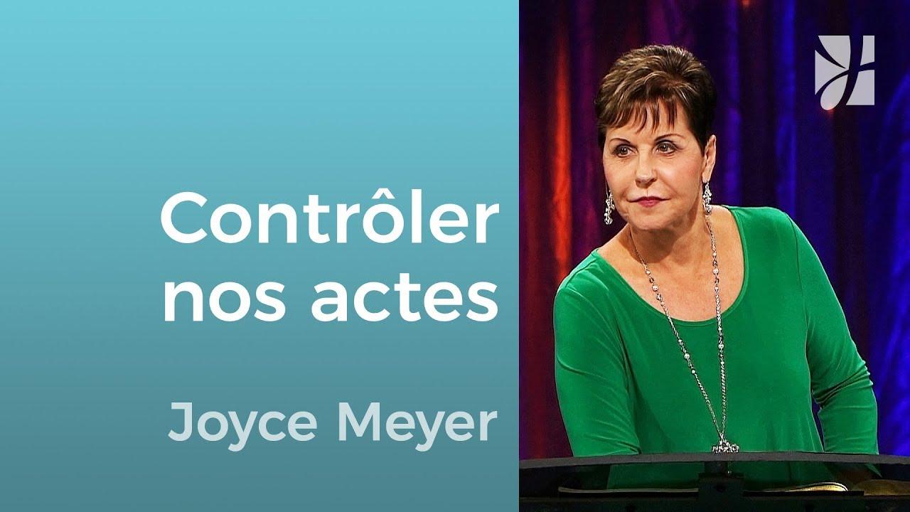 Savez-vous contrôler vos paroles ? (2/2) - Joyce Meyer - Grandir avec Dieu