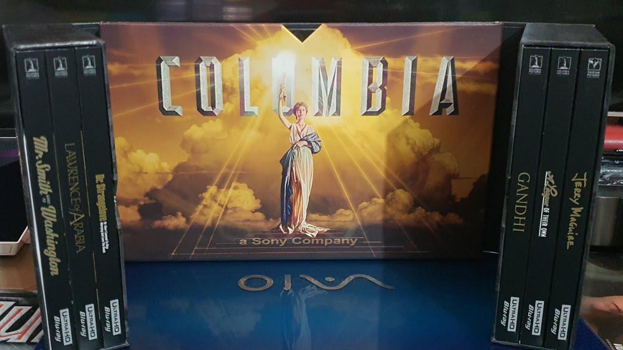 COLUMBIA CLASSICS 4K ULTRA HD COLLECTION VOL. 1 UNBOXING + MENUS
