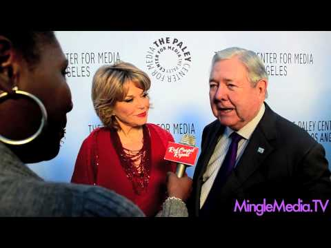 Pat Mitchell & Frank Bennack Jr at The Paley Center for Media Los Angeles Benefit