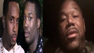NEW ANGLE shows Safaree getting jumped by Meek Mill's crew+ wack100 calls out meek