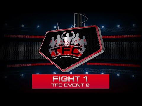 Fight 1 of the TFC Event 2 San-Da LPF (Riga, Latvia) vs GPG (New York, USA)