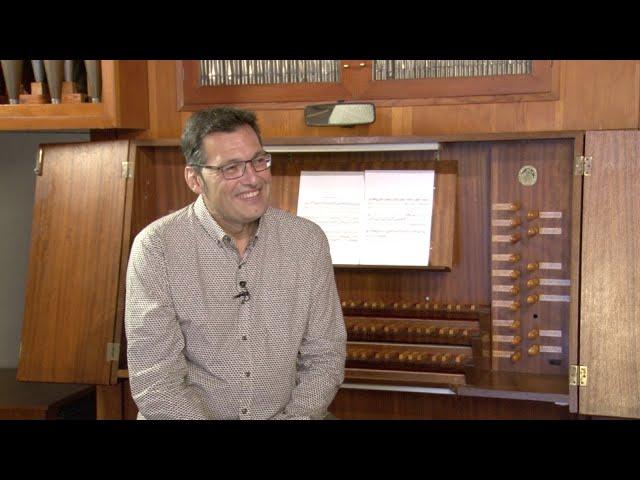 Entrevista a José Luis Echechipía, organista