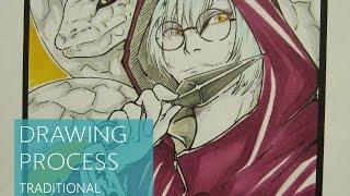 [KABUTO] - Drawing Process HD