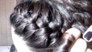 how to do side plaits in my own hair