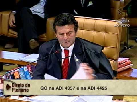 Pleno - STF começa a analisar proposta de modulação de ADIs sobre precatórios