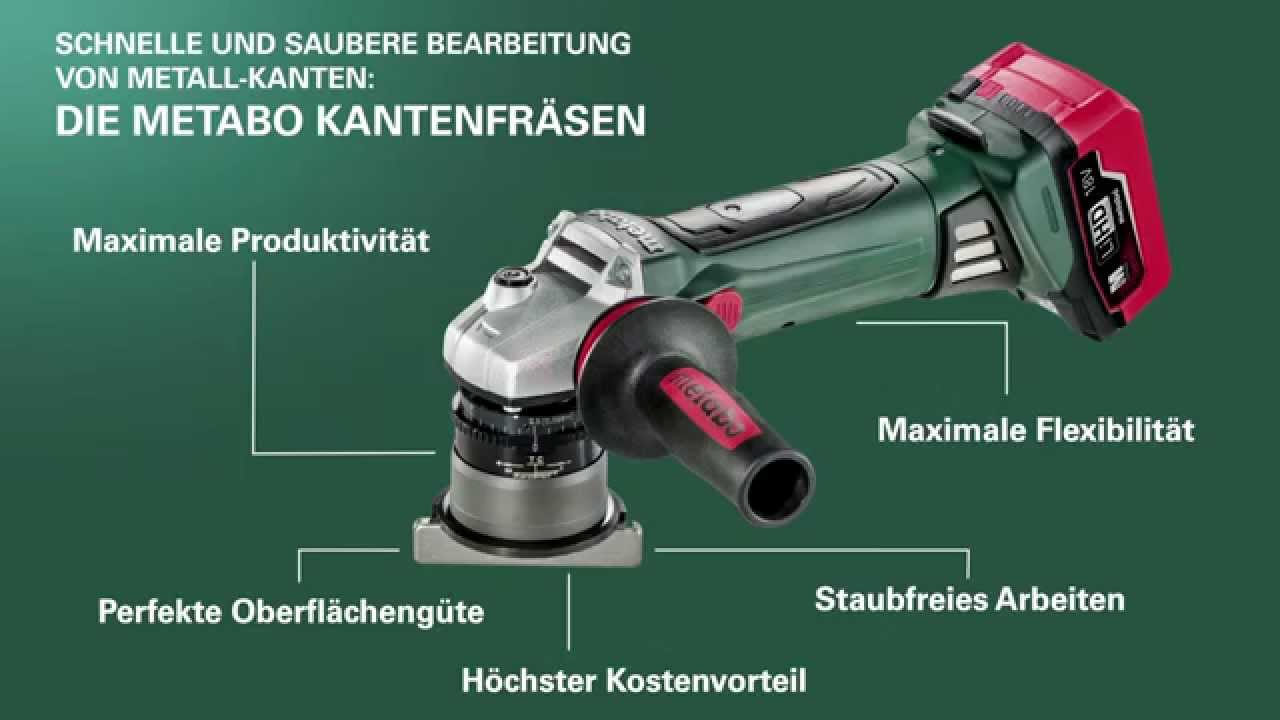die metabo kantenfr sen im einsatz german youtube. Black Bedroom Furniture Sets. Home Design Ideas