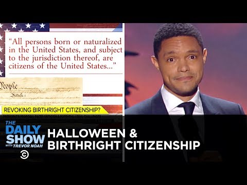 """Stand Your Ground"" Spooks & Trump's Birthright Scare 