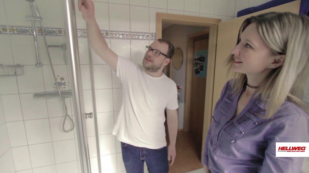 Duschkabine anbringen | Schritt-für-Schritt-Anleitung - YouTube
