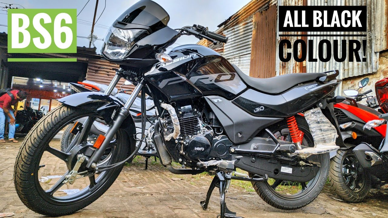 Hero Passion Pro BS6 Hindi Review!! Glossy Black| 110cc Premium Commuter All Details