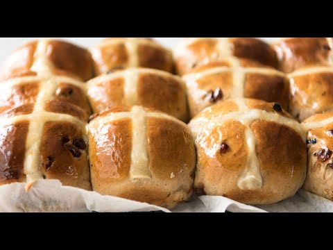 Hot Cross Buns – yes really, it is THIS EASY to make homemade Hot Cross Buns!