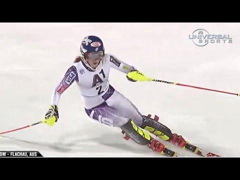 Mikaela Shiffrin 3rd in Flachau slalom - Universal Sports ...