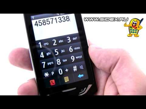 Sidex.ru: Видеообзор Samsung Monte S5620 (rus)