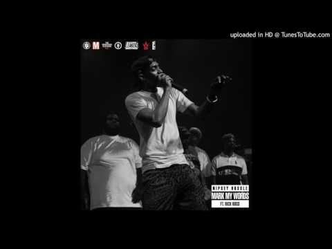 Nipsey Hussle Ft. Rick Ross - Mark My Words (Acapella Dirty) | 90 BPM
